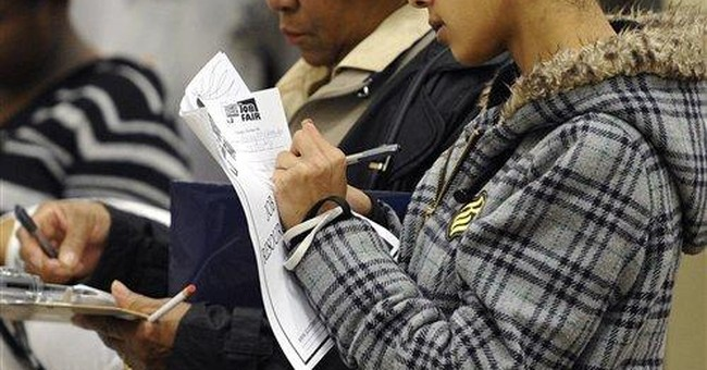 Jobless claims fall to 452K, but remain elevated