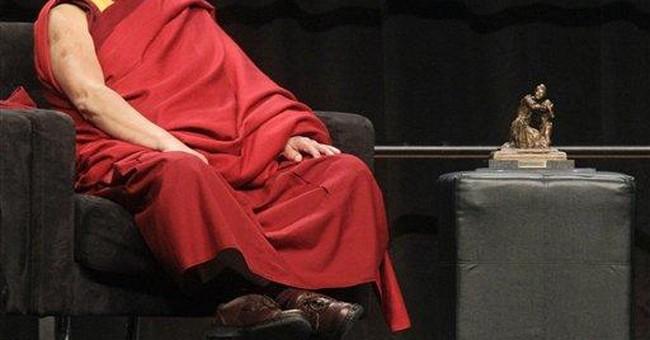 Chinese student in Ohio challenges Dalai Lama