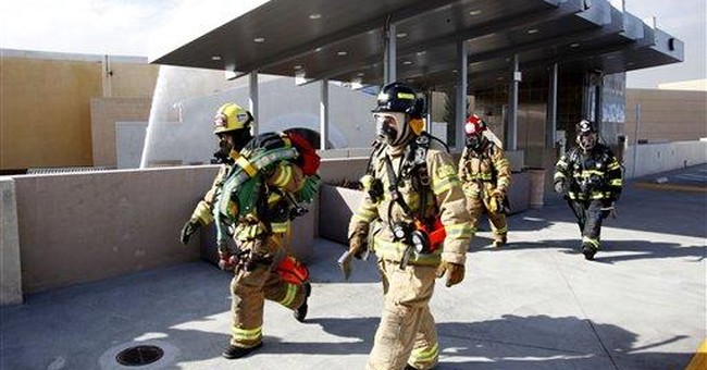 Major Northern Calif. mall burns after standoff