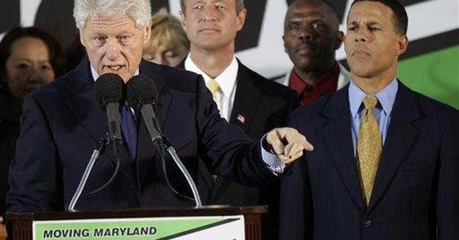 Bill Clinton races to help Democratic candidates