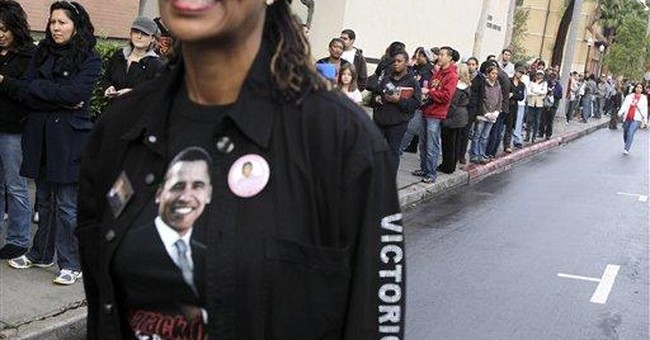 Obama asks voters to stick with Democrats