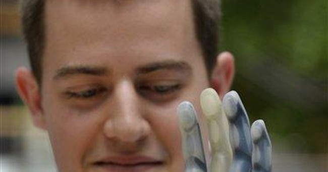 Austrian with high-tech robot arm dies after crash