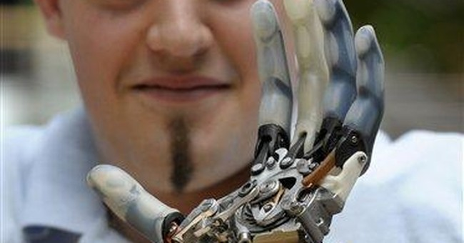 Austrian with high-tech robot arm dies after crash
