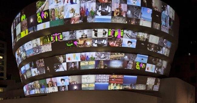 Mediums collide at YouTube's Guggenheim exhibit