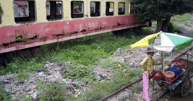 Project puts trains back on Cambodia's rails