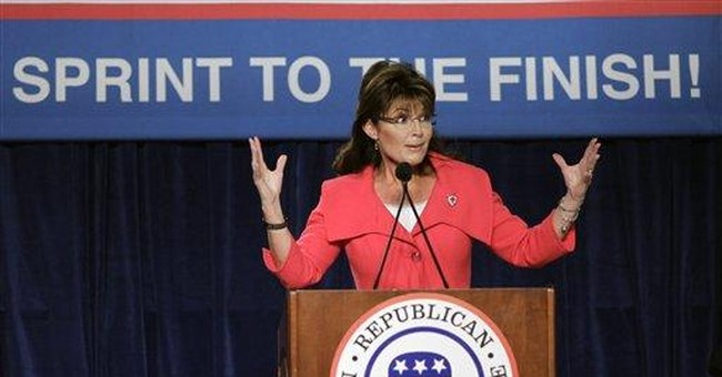Palin rallies GOP in Fla., says time to dig deep