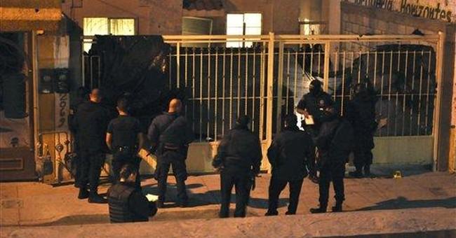 Gunbattle in northern Mexico kills 3 bystanders