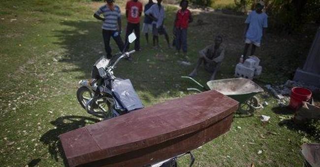 Haiti official: Cholera outbreak is easing