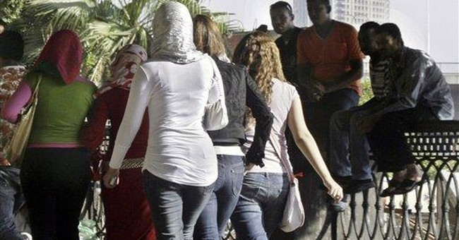 High-tech answer to harassment on Egypt's streets