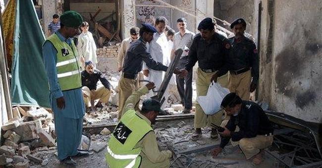 Bomb kills 5 people at Sufi shrine in Pakistan