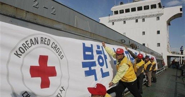 SKorea sends 1st food aid to NKorea in 3 years