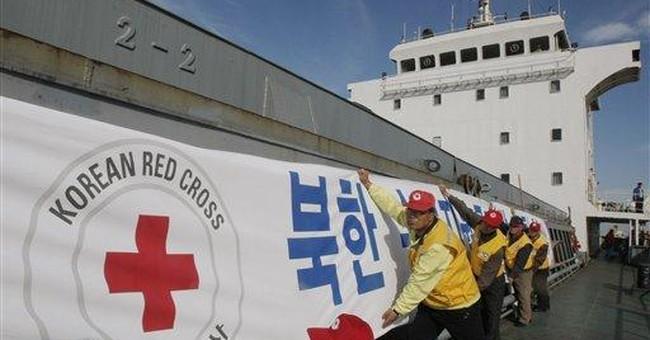 SKorea sends 1st food aid to NKorea in 3 years