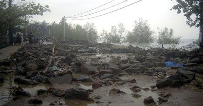 Cyclone kills 27 in western Myanmar; 15 missing