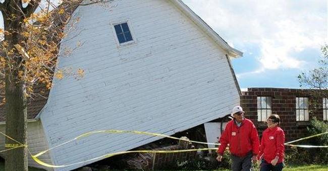 Wild storm leaves behind 1 death, damage, injuries
