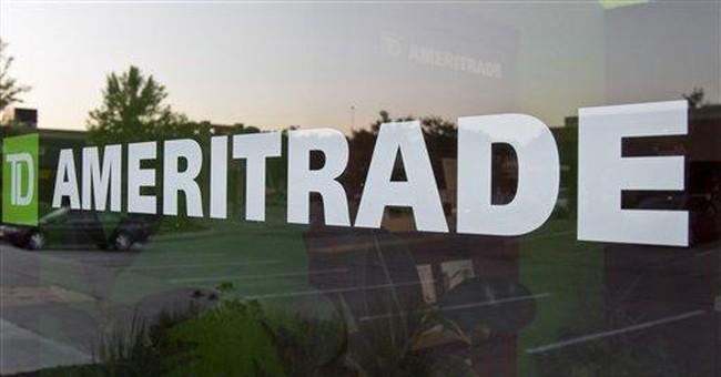 TD Ameritrade 4Q profit falls 27 pct