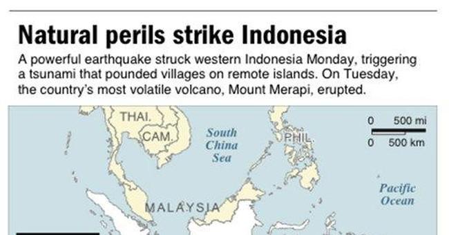 Indonesia volcano kills 30 including spirit keeper