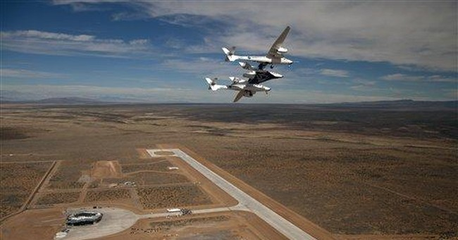 NM spaceport sets stage for commercial space race