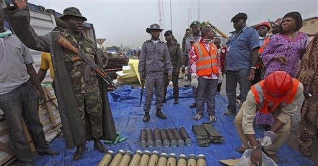 Nigeria: Weapons seizure included artillery