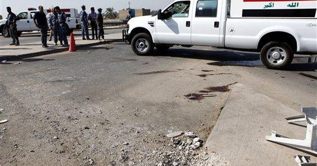 Baghdad bombs kill 3 in scattered violence