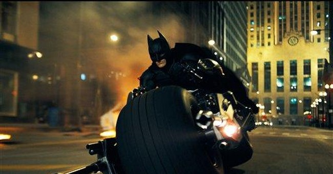 Batman sequel gets a name: 'Dark Knight Rises'