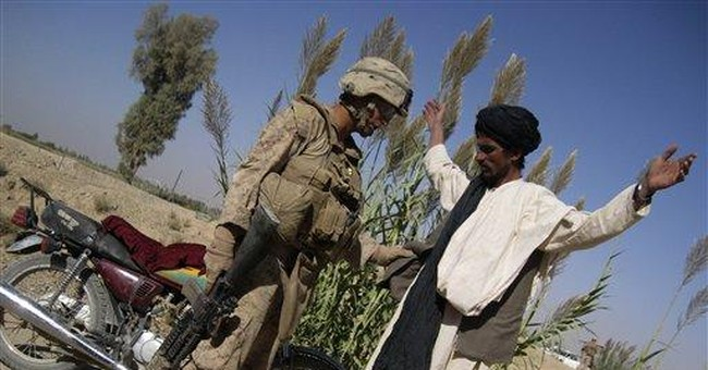 Afghan district holds lessons as US makes gains