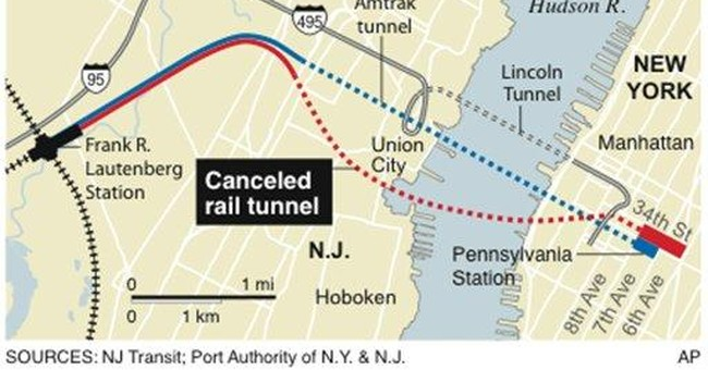 Experts say end of NJ tunnel project hurts region