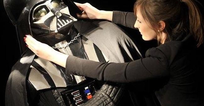 Original Darth Vader costume up for sale in London