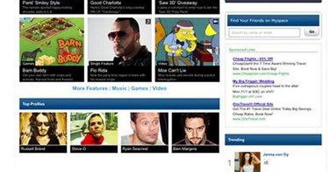 'New MySpace' narrows focus to entertainment