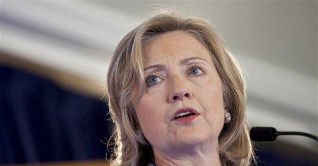 Clinton cites differences with China