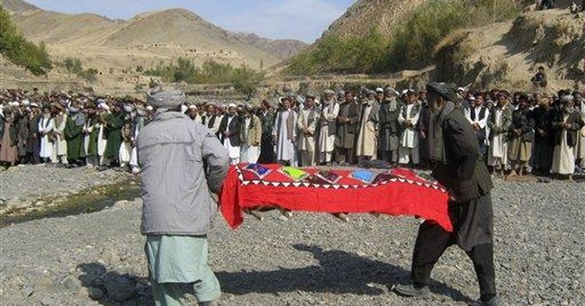 Funerals held for Afghans killed in roof collapse