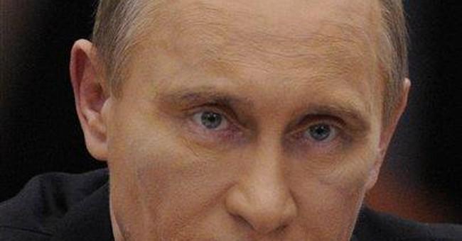 Heavy makeup, dark eyes prompt Putin speculation