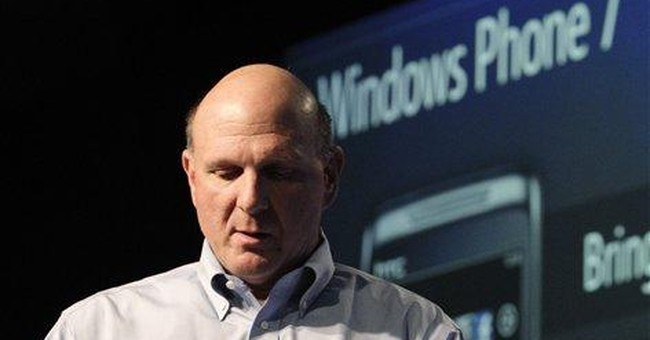 Microsoft's Ballmer hypes smart phone, browser
