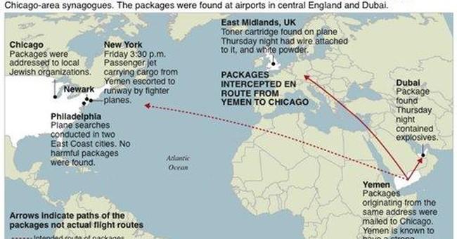 Terror plot thwarted as US-bound explosives seized