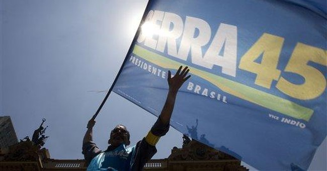 Brazilian candidate's key asset: a nod from Lula