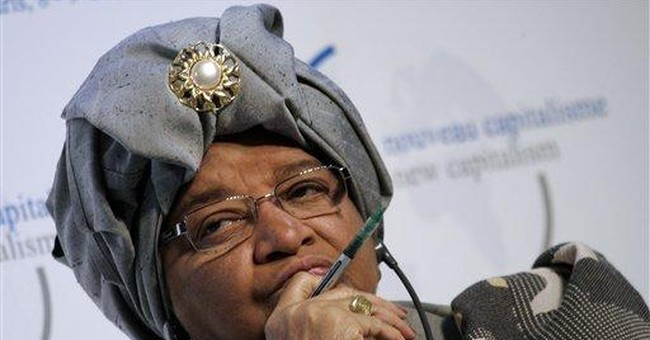 Liberian president eager to run for re-election