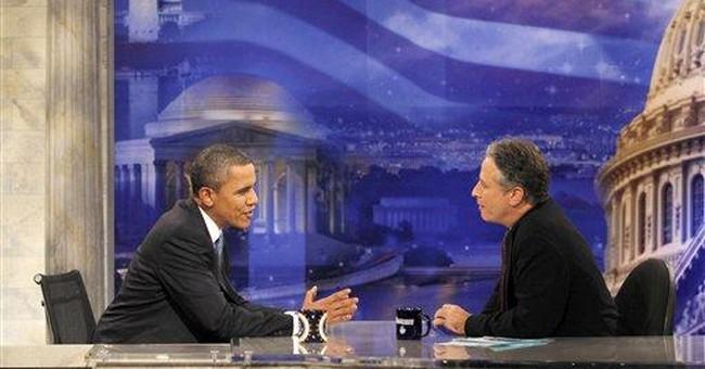 Late-night comics happy to joke about Barack Obama