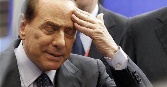 Berlusconi amid scandal: 'I love women'