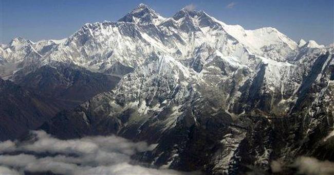 "Tweet it from Everest: ""OMG! we're halfway up!"""