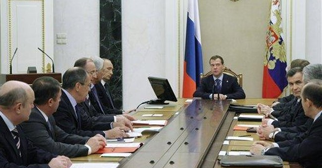 Russian poll: Medvedev almost as popular as Putin