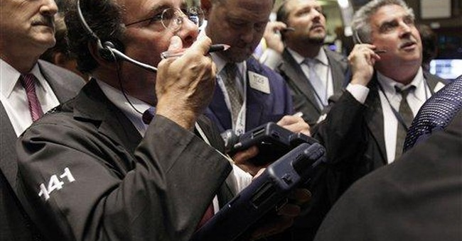 Stocks edge up to close strong October