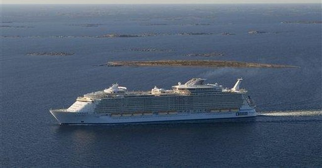 World's largest cruise liner has a twin