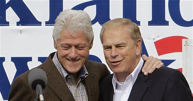 Bill Clinton stumps for Ohio governor