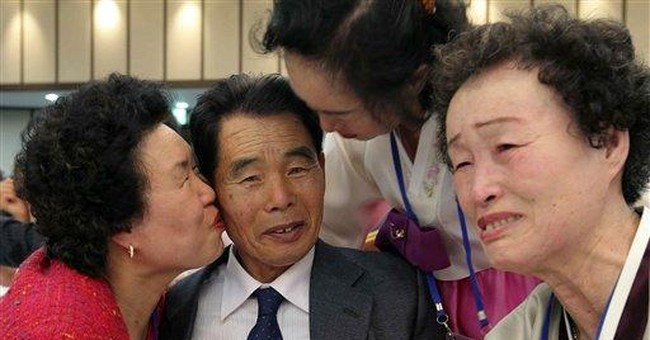 2 Koreas hold reunions for war-split families