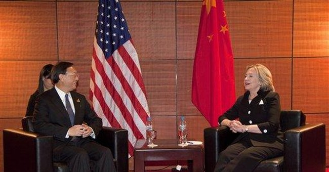 Clinton says US has a stake in Asian security