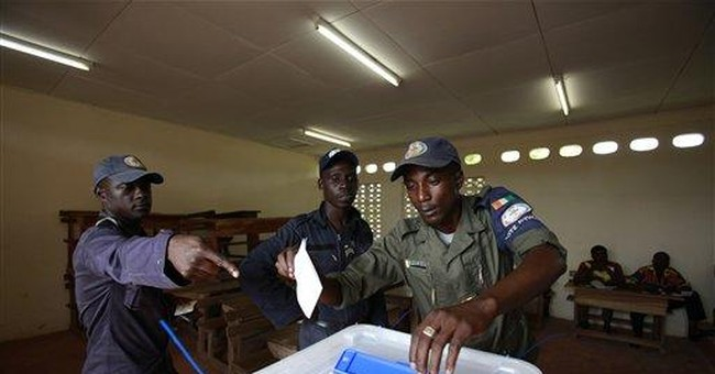 Ivory Coast holds first election since war in 2002