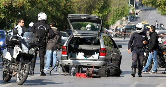 Greece: Suspects carried letter bomb for Sarkozy