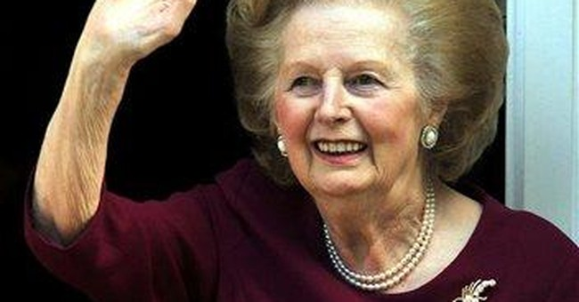 UK's Thatcher released from hospital after flu