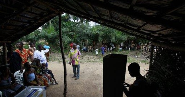 Ivory Coast awaits results of 1st vote since war