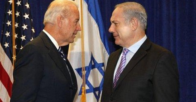 VP Biden pledges unwavering support for Israel