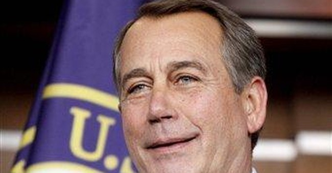 Boehner promises to cut own budget by 5 percent